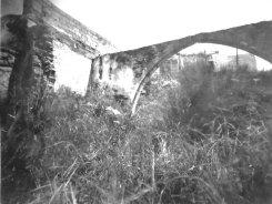 Ursprünglicher Zustand des Mühlenhauses nach dem Niedergang des Dorfes in den 50er Jahren
