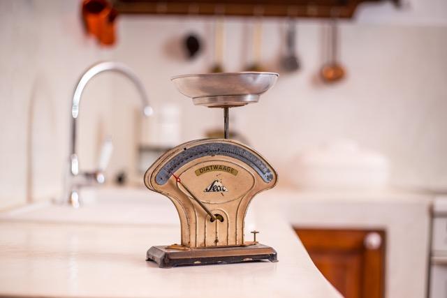 Einrichtungsdetail im Küchenbereich